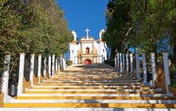 Guadalupe kyrka, San Cristobal de Las Casas, Mexico Arkivbild
