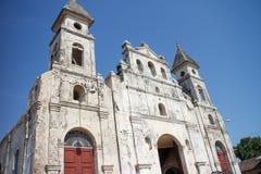 Guadalupe kyrkasikt utanför i Granada Royaltyfri Bild
