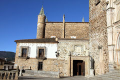 Guadalupe monastery ,Cáceres, Extremadura,Spain, Royalty Free Stock Photo