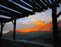 Guadalupe Mountain Sunrise (H). A horizontal image of Sunrise at Guadalupe Mountain National Park in Texas royalty free stock photography