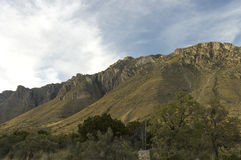 Guadalupe Mountains formation Stock Photography