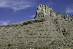 Guadalupe Mountains formation Royalty Free Stock Photo
