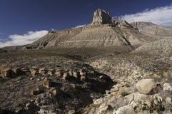 Guadalupe Mountains National Park in de Winter Royalty-vrije Stock Afbeeldingen