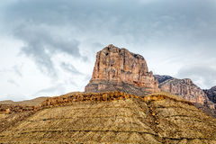 Guadalupe Mountains Texas imagem de stock