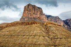 Guadalupe Mountains Texas immagini stock libere da diritti