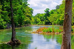 Guadalupe River Arkivfoton
