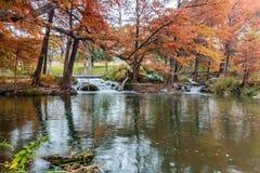 Guadalupe River em Ingram Texas foto de stock royalty free