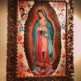 Guadalupe. Virgen portrait Royalty Free Stock Photo