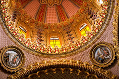 Guadalupita Church Dome Royalty Free Stock Images
