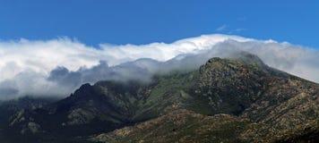 Guadarrama, βουνά του κέντρου της ιβηρικής χερσονήσου, Ισπανία στοκ εικόνα