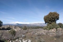 Guadarrama Mountains Stock Image