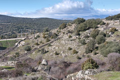 Guadarrama Mountains Royalty Free Stock Image