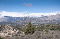 Guadarrama Mountains Royalty Free Stock Images