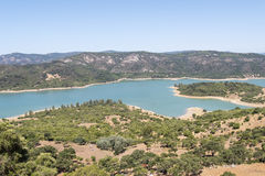 Guadarranque reservoir, Castellar de la Frontera, Andalusia, Spa Stock Photo