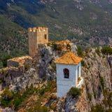 Guadelest Eagles gniazdeczko Spain Zdjęcie Royalty Free