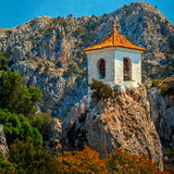 Guadelest, the Eagles nest spain Stock Images