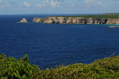 Guadeloupe. France, Anse Bertrand in Guadeloupe stock photo
