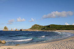 Guadeloupe. France, la Pointe des Chateaux in Guadeloupe stock images