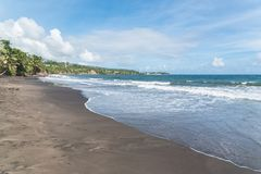 Guadeloupe, beach stock photography