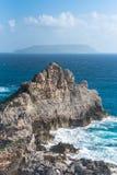 Guadeloupe, panorama stock image