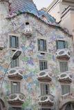 Guadi строя Барселону Стоковые Изображения