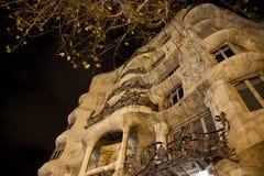 Guadi die Barcelona bouwen Royalty-vrije Stock Afbeelding
