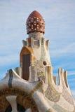 Guadi que constrói Barcelona Fotografia de Stock Royalty Free