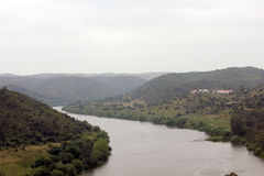Guadiana River Landscape Royalty Free Stock Photo