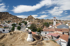 Guadix, Испания Стоковые Фотографии RF