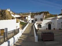 Guadix cave homes Stock Photos