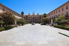Guadix main square Stock Photo