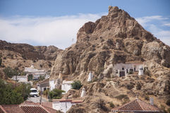 Guadix, Spain Royalty Free Stock Photo