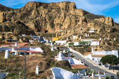 Guadix villages in the province of Granada Andalucia, Southern Stock Photography