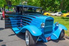 Guado blu della barretta calda Fotografia Stock