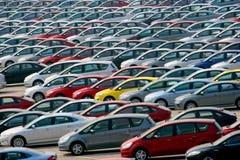 guado changan la srl Mazda di co dell'automobile transita fotografie stock libere da diritti