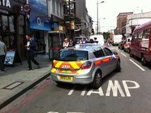 Guaime di agitazione l'8 agosto 2011 di Londra Fotografia Stock