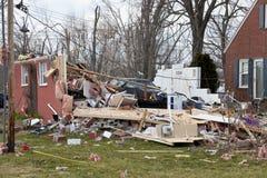 Guaime in Henryville, Indiana di ciclone Fotografie Stock