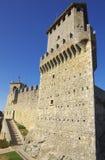 Guaita castle in San Marino Royalty Free Stock Photography