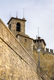 Guaita, First Tower of San Marino Stock Photography