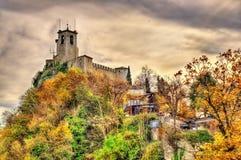 Guaita, First Tower of San Marino Stock Photography