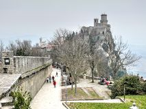Guaita Fortress - San Marino Stock Image