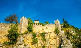 Guaita fortress, San Marino Royalty Free Stock Photo
