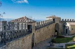 Guaita Tower Of San Marino Italy Stock Photo