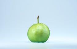 Guajava-Frucht auf weißem Hintergrund Lizenzfreie Stockbilder