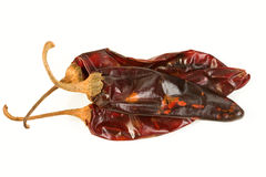 Guajillo Chiles Royalty Free Stock Photos