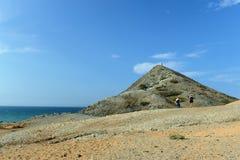 Guajira-Halbinsel. Kolumbien lizenzfreies stockbild