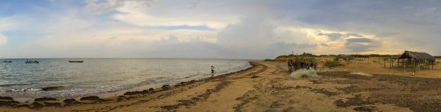 Guajira halvö, Zulia, Venezuela Arkivbild