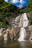 Gualba waterfall. Montseny, Spain. Royalty Free Stock Photos