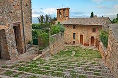 Gualdo Cattaneo, Perugia, Umbria, Italia Immagini Stock Libere da Diritti