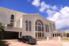 Guam Agana Cathedral Stock Photo